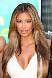 модное окрашивание волос у актрис Голливуда