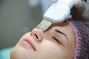 чистка лица ультразвуком - ультразвуковая чистка кожи лица