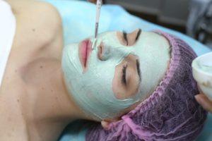 услуги косметолога киев, альгинатная маска на лицо