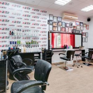 салон красоты Киев метро Левобережная парикмахерский зал