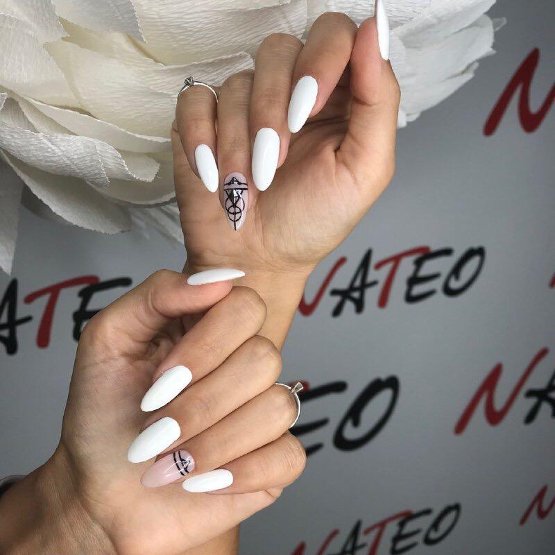 классический маникюр Киев Позняки, самые лучшие мастера в салоне красоты NATEO наращивание ногтей